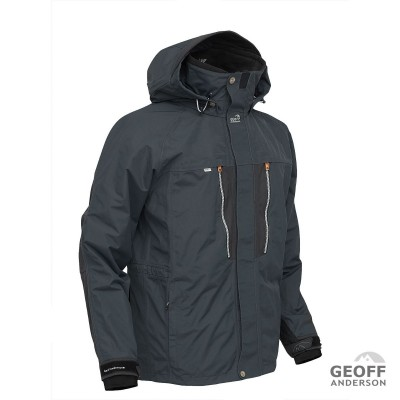 Geoff Anderson Dozer 6 Jacke Farbe grauschwarz